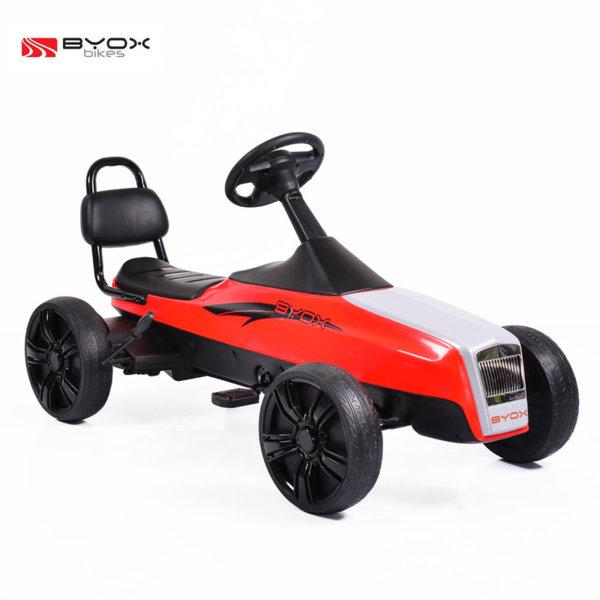 Byox Bikes - Детска картинг кола Happy Baby червена 5+ 104074
