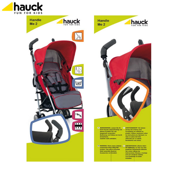 Hauck - Протектори за дръжки на количка Handle Me 618325