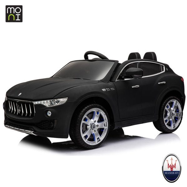 Moni - Акумулаторен джип Levante Maserati 1798 черен 106309
