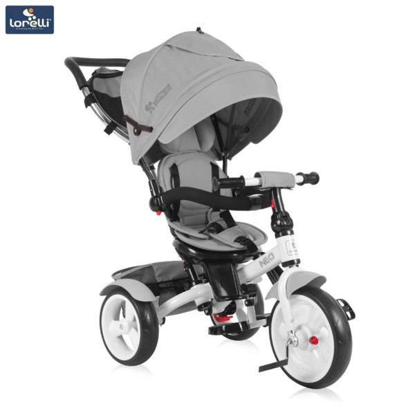 Lorelli - Триколка с родителски контрол NEO EVA гуми Сива 10050330005
