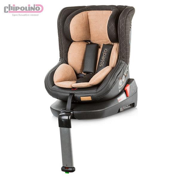 Chipolino - Столче за кола с ISOFIX Толедо (0-18кг) фрапе