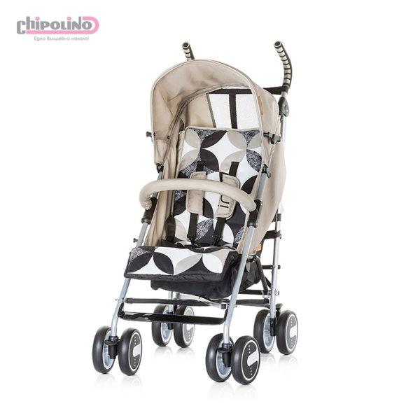 Chipolino - Лятна бебешка количка Ирис фрапе