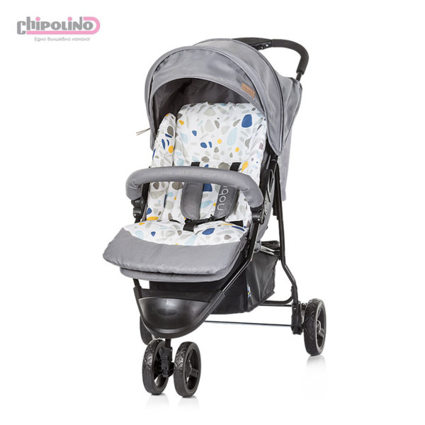 Chipolino - Лятна бебешка количка триколка Ноби пепел
