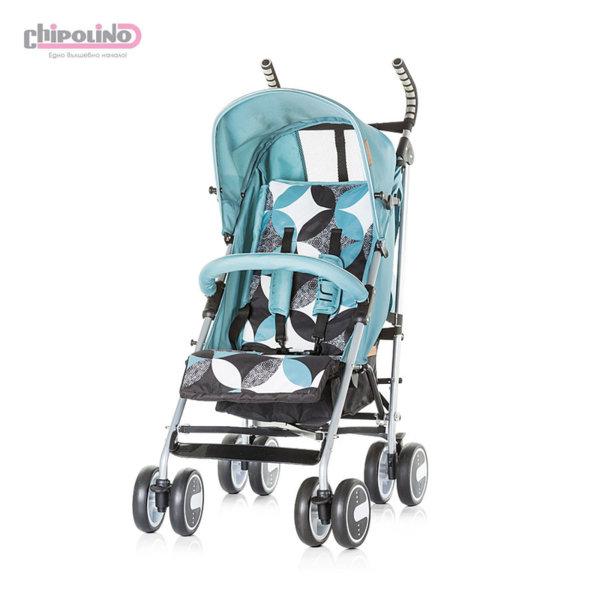 Chipolino - Лятна бебешка количка Ирис езеро