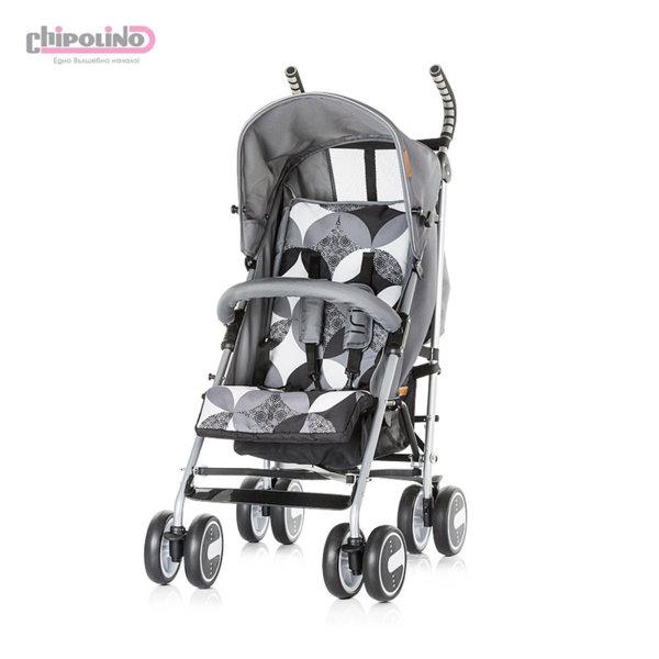 Chipolino - Лятна бебешка количка Ирис пепел