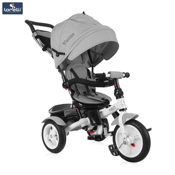 Lorelli - Триколка с родителски контрол NEO AIR гуми Сива