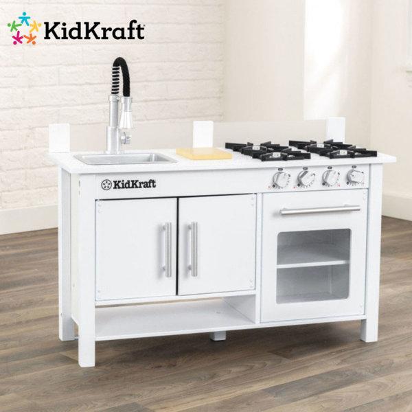 KidKraft - Детска дървена кухня Little cook 53407