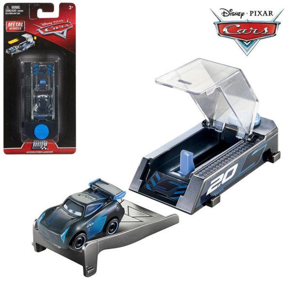 Mattel - Disney Cars Мини количка с изстрелвачка Джаксън Сторм FLG40