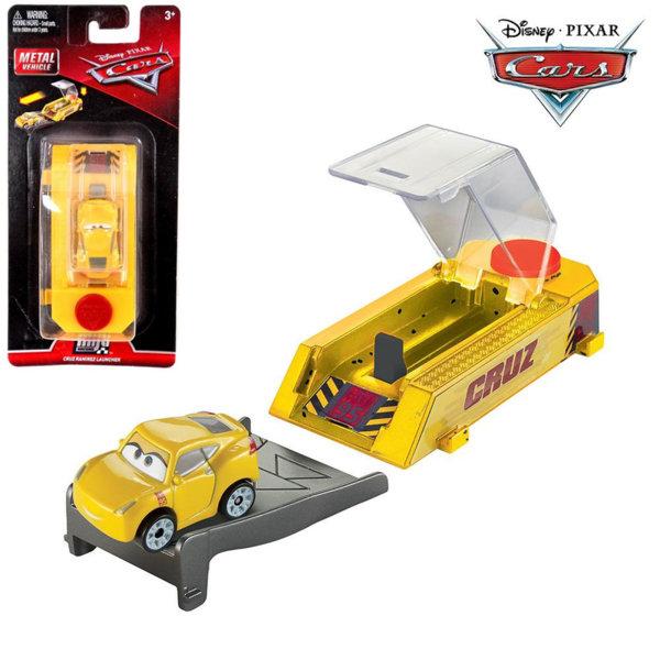 Mattel - Disney Cars Мини количка с изстрелвачка Круз Рамирес FLG40