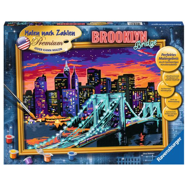 Ravensburger - Рисуване по номера 14+ Бруклинския мост 28897