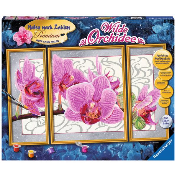 Ravensburger - Рисуване по номера 14+ Орхидея 28969