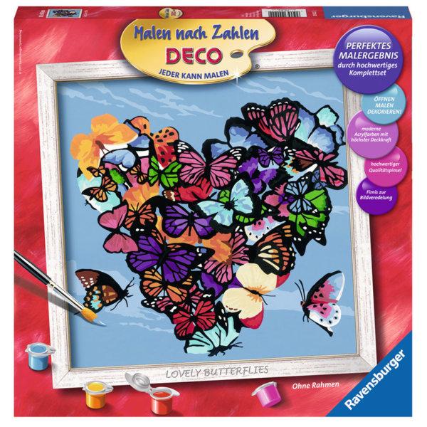 Ravensburger - Рисуване по номера 14+ Пеперуди 29022