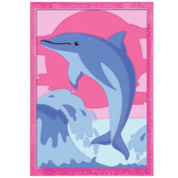Ravensburger - Рисуване по номера 7+ Делфин 29608