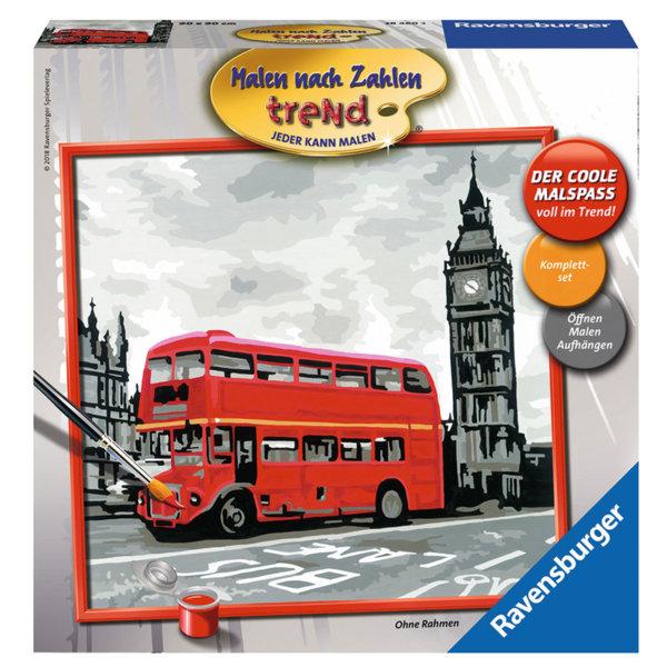 Ravensburger - Рисуване по номера 12+ Лондон 28460