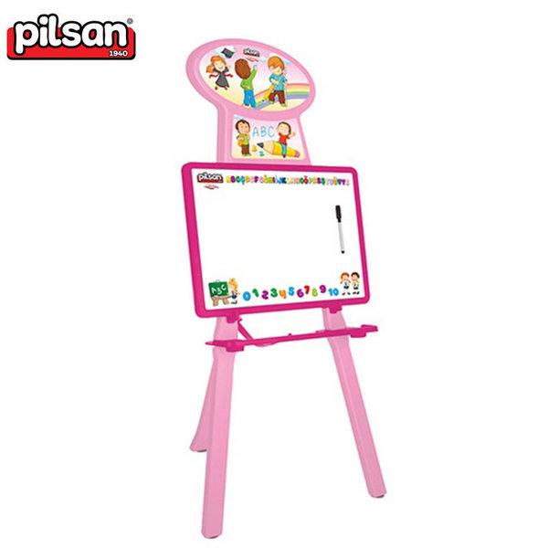 Pilsan - Детска дъска за рисуване Handy розова 03428