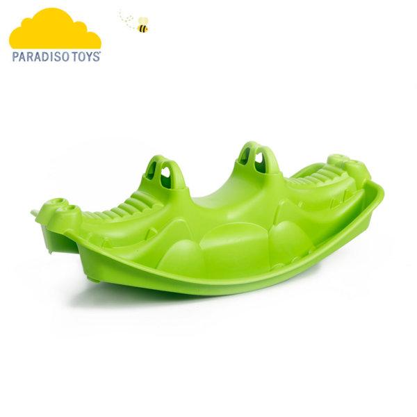 Paradiso - Детска люлка за две деца Крокодил 02319