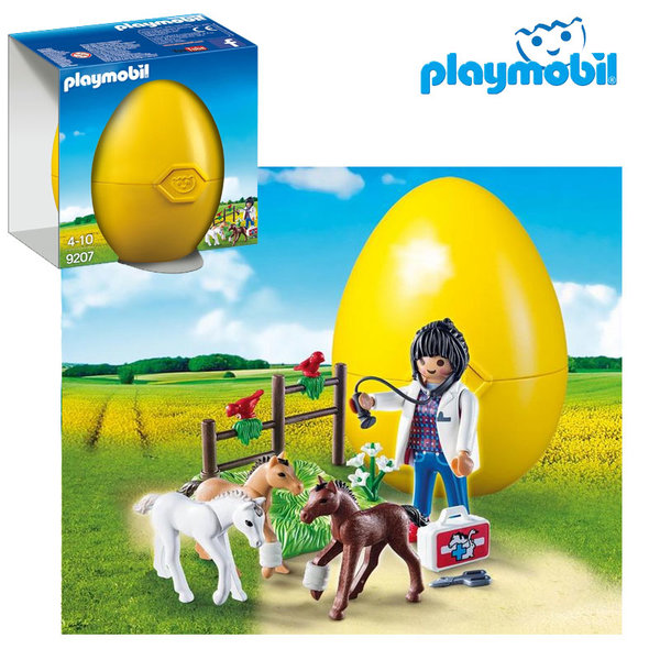 Playmobil - Великденско яйце Ветеринар с кончета 9207