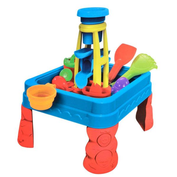 Детска маса за игра с пясък и вода Пясъчна кула 14584