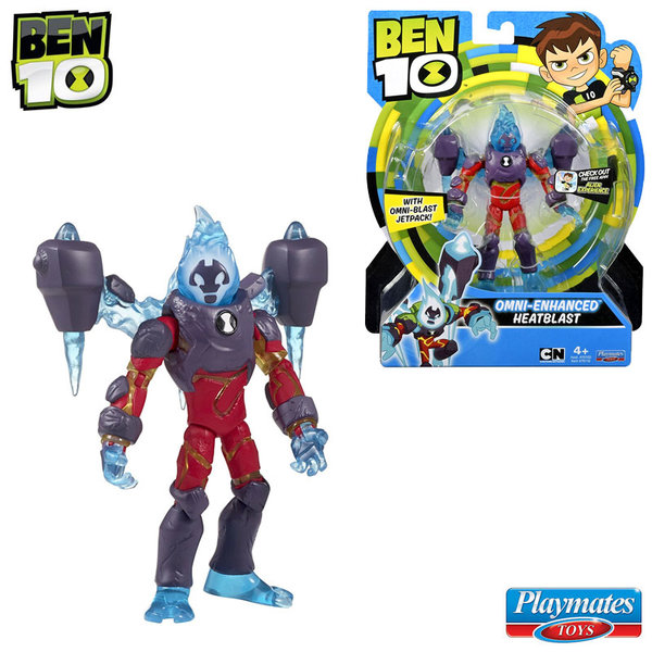 Ben 10 - Екшън фигура Бен Тен Omni Enhanced HeatBlast 76100