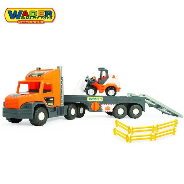 1Wader - Автовоз с булдозер 36720