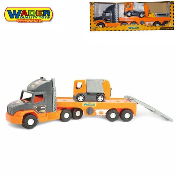 1Wader - Автовоз с камион за боклук 36730