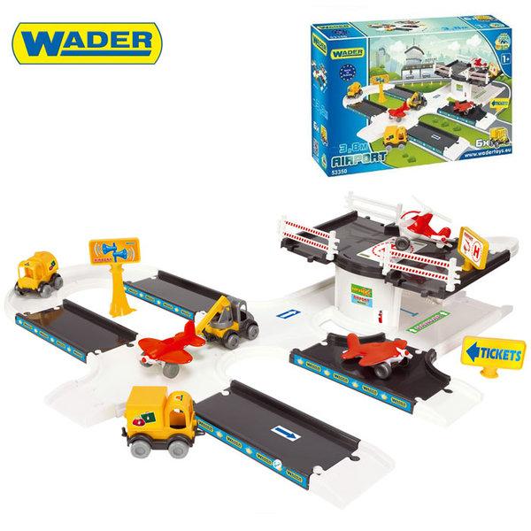 1Wader Kid Cars - 3D Писта с летище 53350