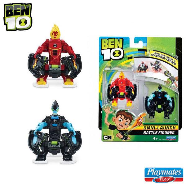 Ben 10 - Бен Тен Omni бойци за изстрелване Огнен порив и Акселерат 76635