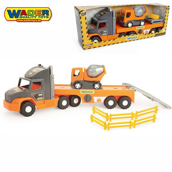 1Wader - Автовоз с бетоновоз 36750