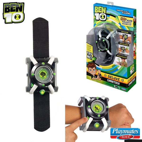 Ben 10 - Часовник Бен Тен Omnitrix Deluxe със звукови и светлинни ефекти 76931