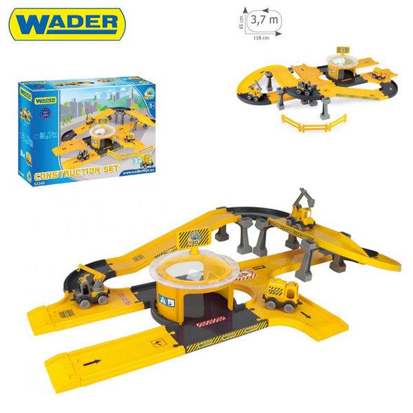 1Wader Kid Cars - Писта със строителни машини 53340