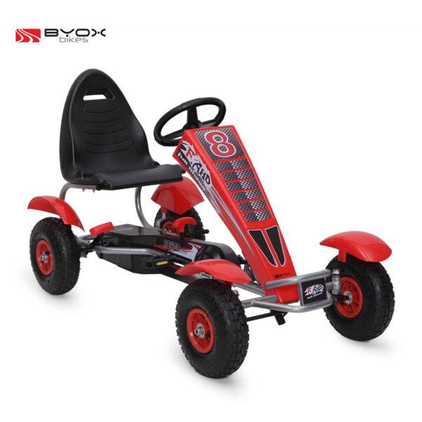 Byox Bikes - Детска картинг кола Full Ahead F8-3 AIR Red 103975