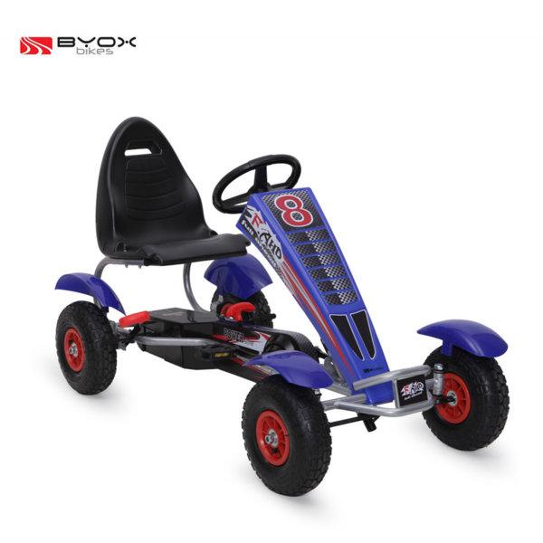 Byox Bikes - Детска картинг кола Full Ahead F8-3 AIR Blue 103974