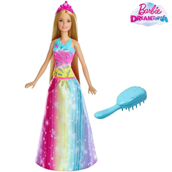 Barbie Dreamtopia - Барби Принцеса с магическа четка FRB12