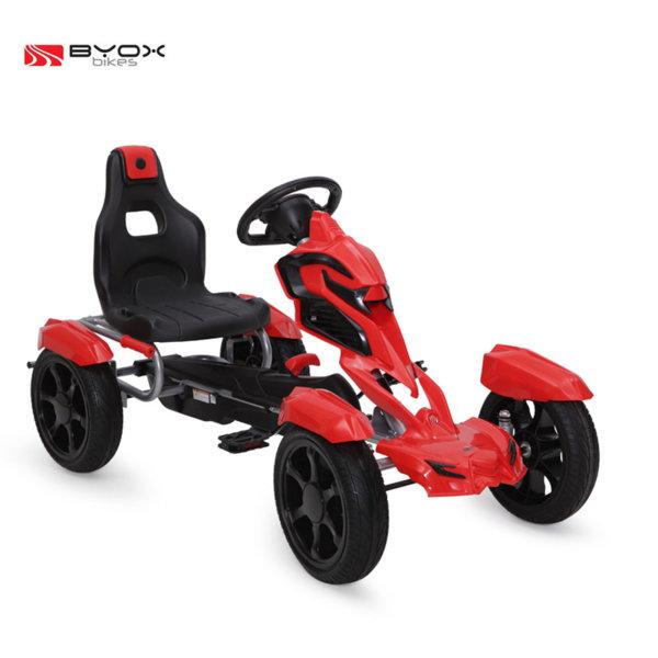 Byox Bikes - Детска картинг кола Adrenaline red 103556