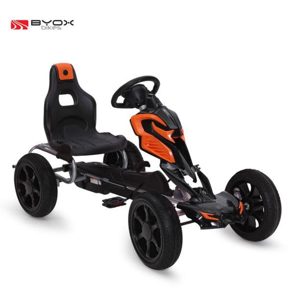 Byox Bikes - Детска картинг кола Adrenaline black 103976