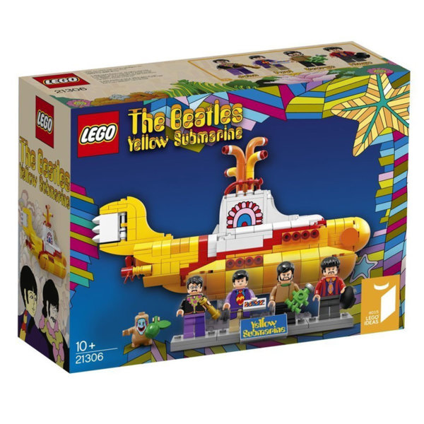 Lego 21306 Ideas - Жълтата подводница на Бийтълс
