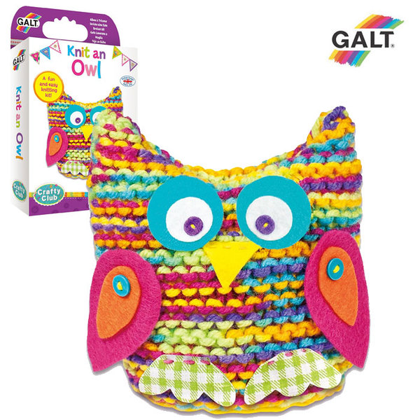 GALT - Изплети цветно бухалче 1004987