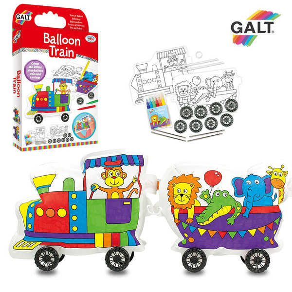 GALT - Оцвети и сглоби влакче 1004960