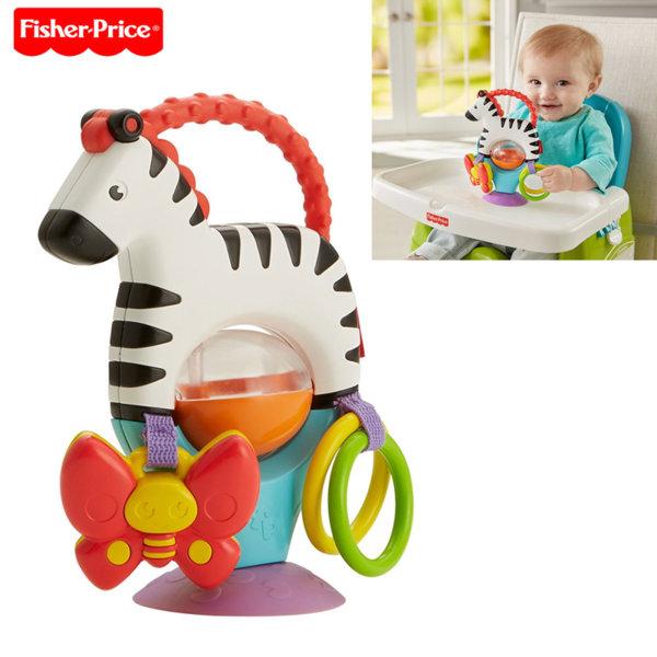 Fisher Price - Бебешка играчка за маса Зебра FGJ11