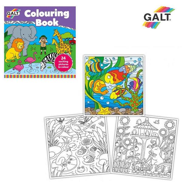 GALT - Книжка за оцветяване Животни 1004972