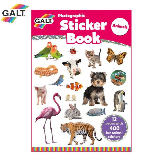 GALT - Книжка със стикери Животни 1005032