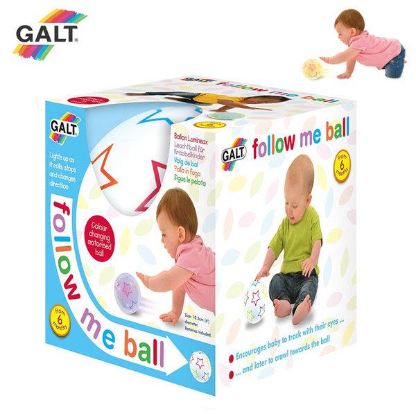 GALT - Бебешка движеща се топка Follow me 1005059