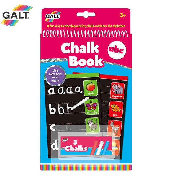 GALT - Книжка за рисуване с тебешири Букви 1105473