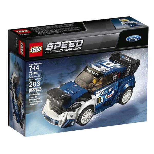 Lego 75885 Speed Champions - Форд Фиеста М-спорт WRC