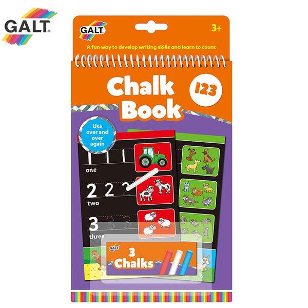 GALT - Книжка за рисуване с тебешири Цифри 1105476