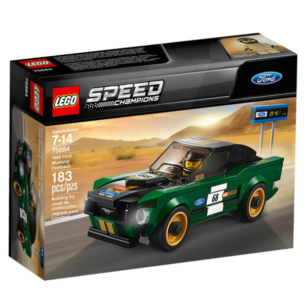 Lego 75884 Speed Champions - 1968 Форд Мустанг