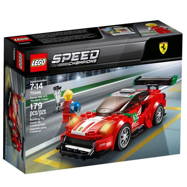 Lego 75886 Speed Champions - Ферари 488 GT3 Scuderia Corsa