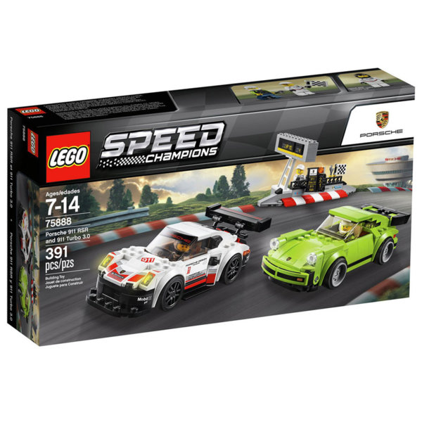 Lego 75888 Speed Champions - Порше 911 RSR и Порше 911 Турбо 3.0