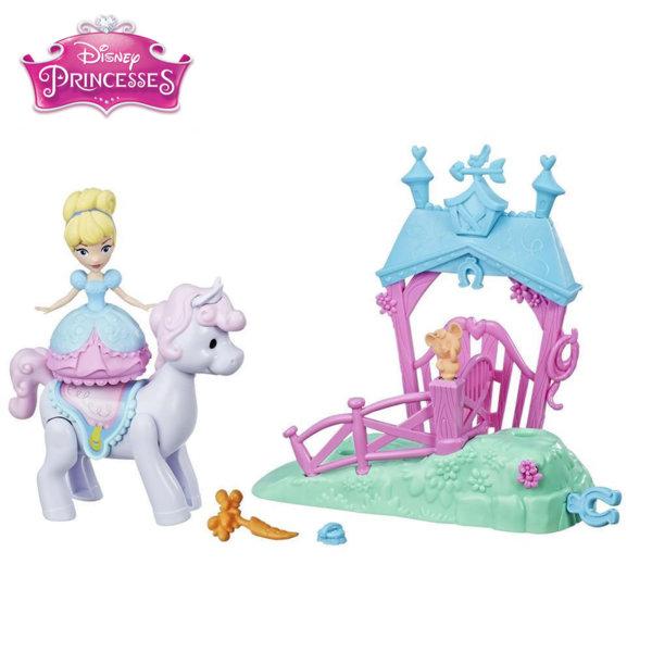 Disney Princess - Комплект магическа мини кукла Пепеляшка e0072