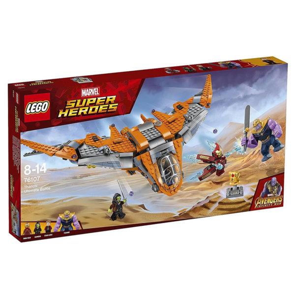 Lego 76107 Super Heroes - Avengers Танос: Последната битка
